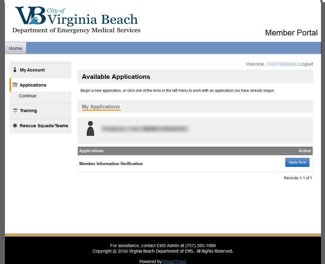 How to verify your information in the new member portal vbems member portal member information verification xflitez Images