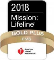 VBEMS wins 2018 Mission: Lifeline Gold Plus Award!